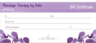 gift cards for small business gift cards therapy by debi llc