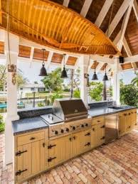 backyard bbq designs patio traditional with covered grill grill
