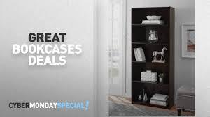 walmart top cyber monday bookcases deals mainstays 5 shelf