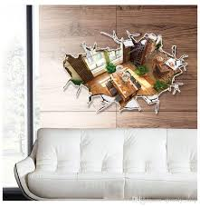 home design 3d remove wall 3d floor board sticker false window wall decal personality
