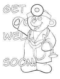 get well soon kid get well soon coloring pages printables kid stuff inside