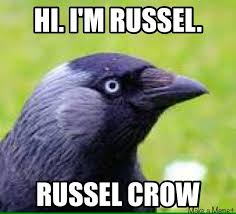 Crow Meme - another meme that really makes me smile janet carr