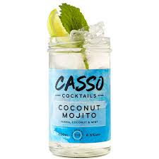 mojito cocktail vodka casso coconut mojito jam jar cocktail