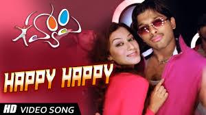 happy happy hd song happy allu arjun