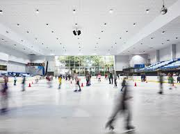 where to go ice skating in sydney