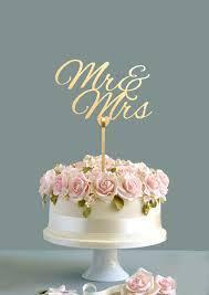 mr mrs cake topper wedding cake topper mr mrs cake topper gold cake topper