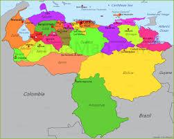 Venezuela World Map by Venezuela Map Map Of Venezuela Annamap Com