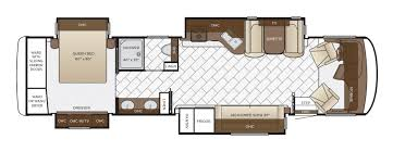 bunkhouse fifth wheel floor plans canyon star floor plan options newmar
