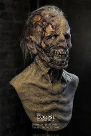 Zombie Mask The Cadaver Silicone Mask Zombie Silicone Mask Undead Silicone
