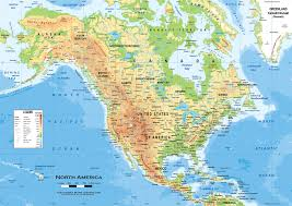 Geographical Map Of South America Detailed Political Map Of United States Of America Ezilon Maps