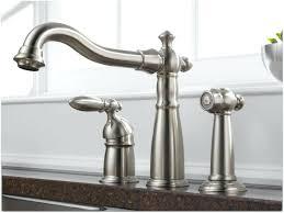 brushed nickel single handle kitchen faucet delta brushed nickel kitchen faucet shn me