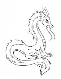 easy chinese dragon drawing dragons and fairies coloring pages