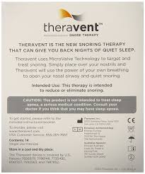 amazon com theravent nasal strips that actually stop snoring