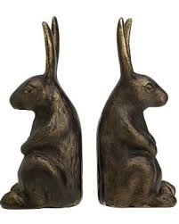bunny bookends don t miss this bargain the emily meritt bunny bookends