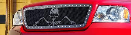 2007 ford f150 fx4 accessories 2007 ford f 150 custom grilles billet mesh led chrome black