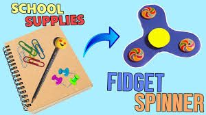 3 minute crafts how to make diy fidget spinner out of