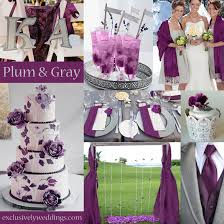 Decorating With Plum Plum Wedding Color U2013 Four Fantastic Choices Exclusively Weddings