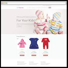 lt baby shop u2013 free responsive kids baby store wordpress theme