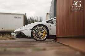 Yellow Lamborghini Aventador - ag luxury wheels lamborghini aventador forged wheels
