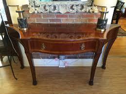 Mahogany Console Table Widdicomb Mario Buatta Collection Mahogany Console Table