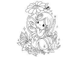 cute fantasy fairy coloring page coloring sky