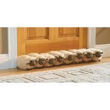 flock of sheep draft stopper door and window breeze guard 32