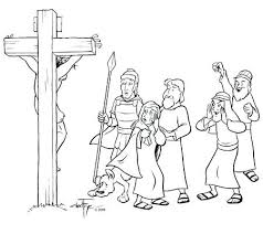 Coloring Pages Of Jesus On The Cross The Last Supper Coloring Page Last Supper Coloring Page
