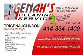 business cards milwaukee genah s cleaning service business cards 01 copy from genah s