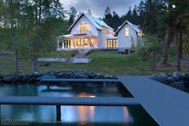 Perfect Little House The Landing At Somers Bay Flathead Lake Homes