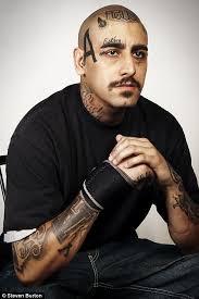 photographer steven burton u0027 series u0027removes u0027 tattoos from la gang