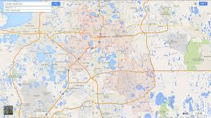 Map Orlando Florida by Orlando Florida Map