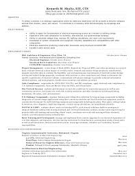 Sample Resume Of An Electrical Engineer by Best Example Resumes 2017 Uxhandy Com