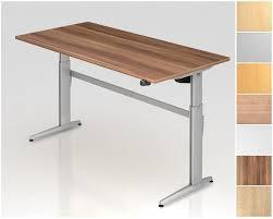 Designer Schreibtisch Elektrisch Höhenverstellbarer Schreibtisch Rechteckform