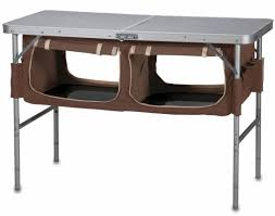 cabinet camping kitchen table collapsible best camping kitchen