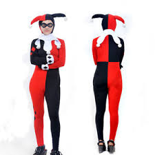 harley quinn jumpsuit dc harley quinn jumpsuit fancy dress