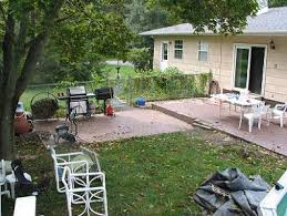 Raised Patio Construction Ace Paver Ep Henry Raised Patio With Custom Steps Franklinville Nj