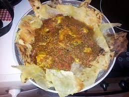 cuisine marocaine facile et rapide recette de sael r fissa plat marocain poulet lentilles