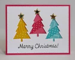 christmas cards ideas greeting cards christmas tree cards 25 unique christmas tree cards