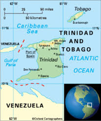 where is and tobago located on the world map and tobago the commonwealth