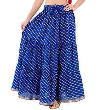 cotton skirt décot paradise women s cotton skirt skt217 blue in
