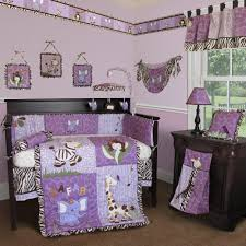 Nightmare Before Christmas Baby Bedding Modern Purple And Teal Baby Bedding All Modern Home Designs