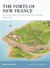 The Great Lakes Map The Forts Of New France The Great Lakes The Plains And The Gulf