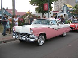 pink cars 1956 ford fairlane crown victoria the picture is taken at u2026 flickr