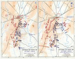 Gettysburg Map Gettysburg Campaign Map