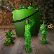 plastic army man halloween costume toy soldier fancy dress costume saving private morph morph