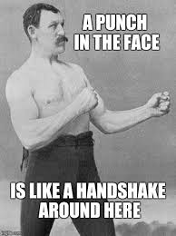 Tough Guy Memes - tough guy handshake imgflip