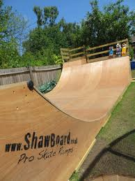 Backyard Skateboard Ramps Shawboard Pro Skate Ramps