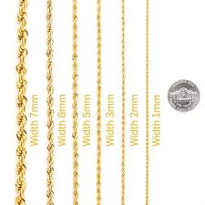gold chain necklace sizes images Gold chain necklace 24k gold overlay usa made lifetime warranty jpg
