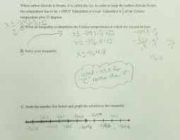 write solve and graph an inequality students are asked to write