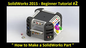 solidworks tutorial part modeling specially designed for